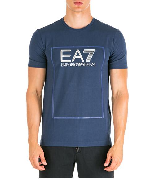 T-shirt Emporio Armani EA7 6gpt09pj20z1554 navy blue