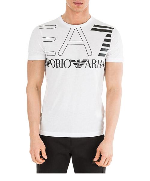 T-shirt Emporio Armani EA7 6GPT11PJ02Z1100 bianco