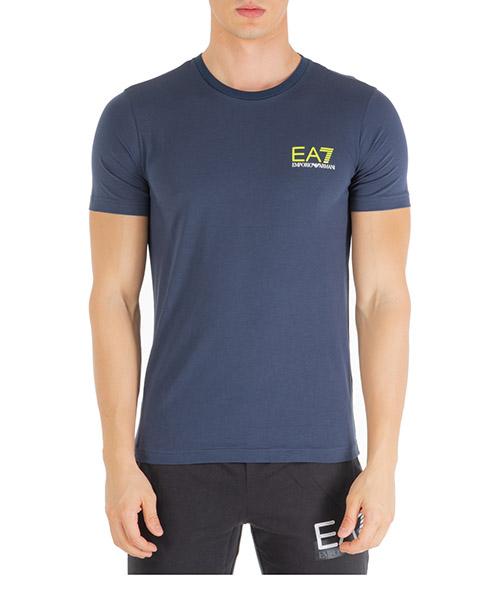 T-shirt Emporio Armani EA7 6gpt15pj02z1554 navy blue