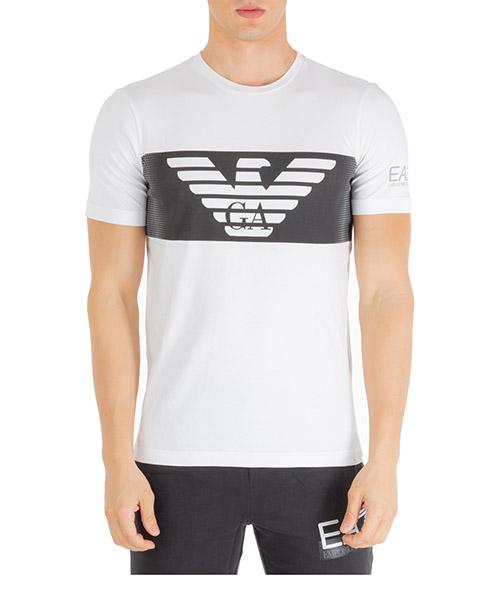 T-shirt Emporio Armani EA7 6gpt56pjq9z1100 white