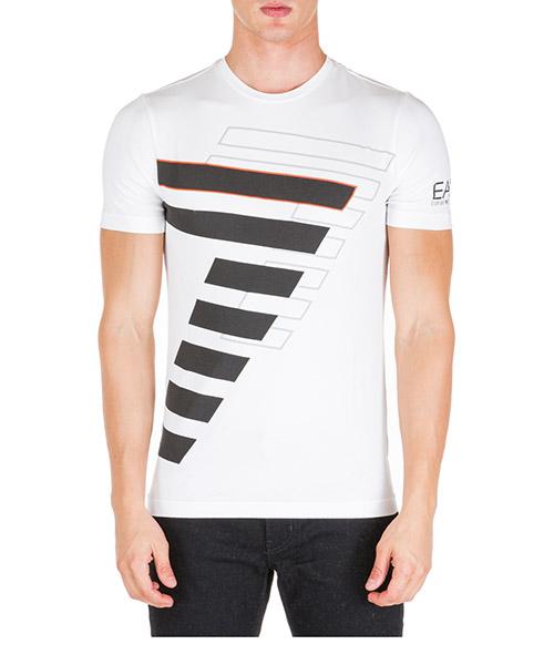 T-shirt Emporio Armani EA7 6gpt60pjp6z1100 bianco