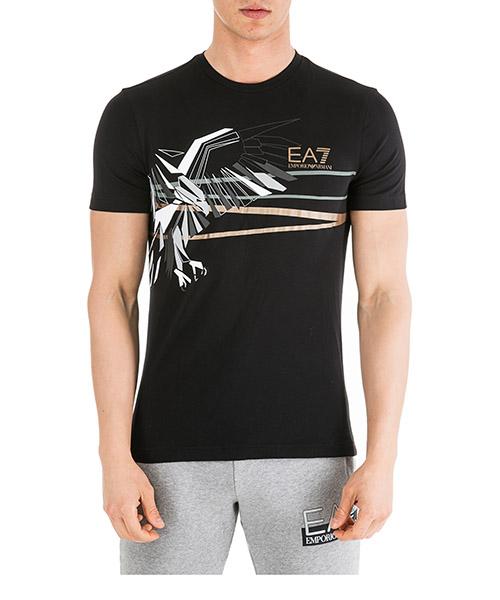T-shirt Emporio Armani EA7 6GPT69PJQ9Z1200 nero