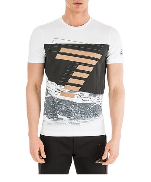 T-shirt Emporio Armani EA7 6GPT72PJP6Z1100 bianco