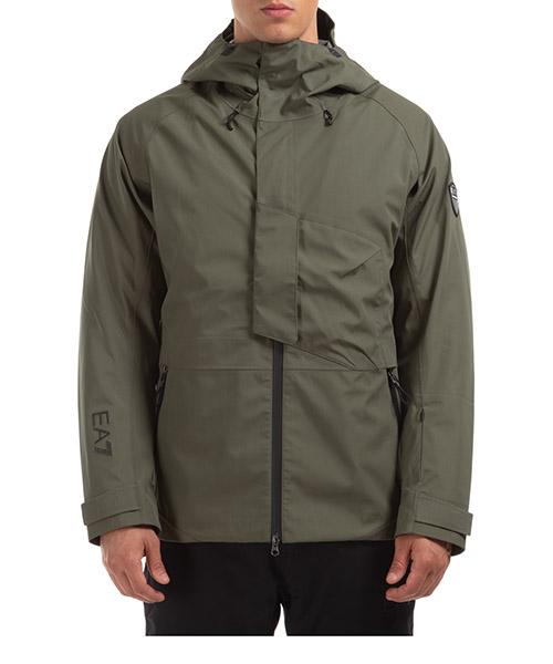 Ski jackets Emporio Armani EA7 6HPG30PN8BZ1867 grape leaf