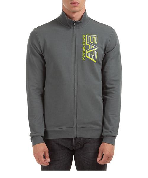 Zip-up sweatshirt Emporio Armani EA7 6HPM35PJ05Z1984 urban chic