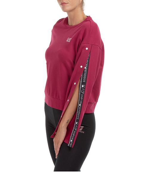 Sweatshirt Emporio Armani EA7 6htm12tj31z1493 beet red