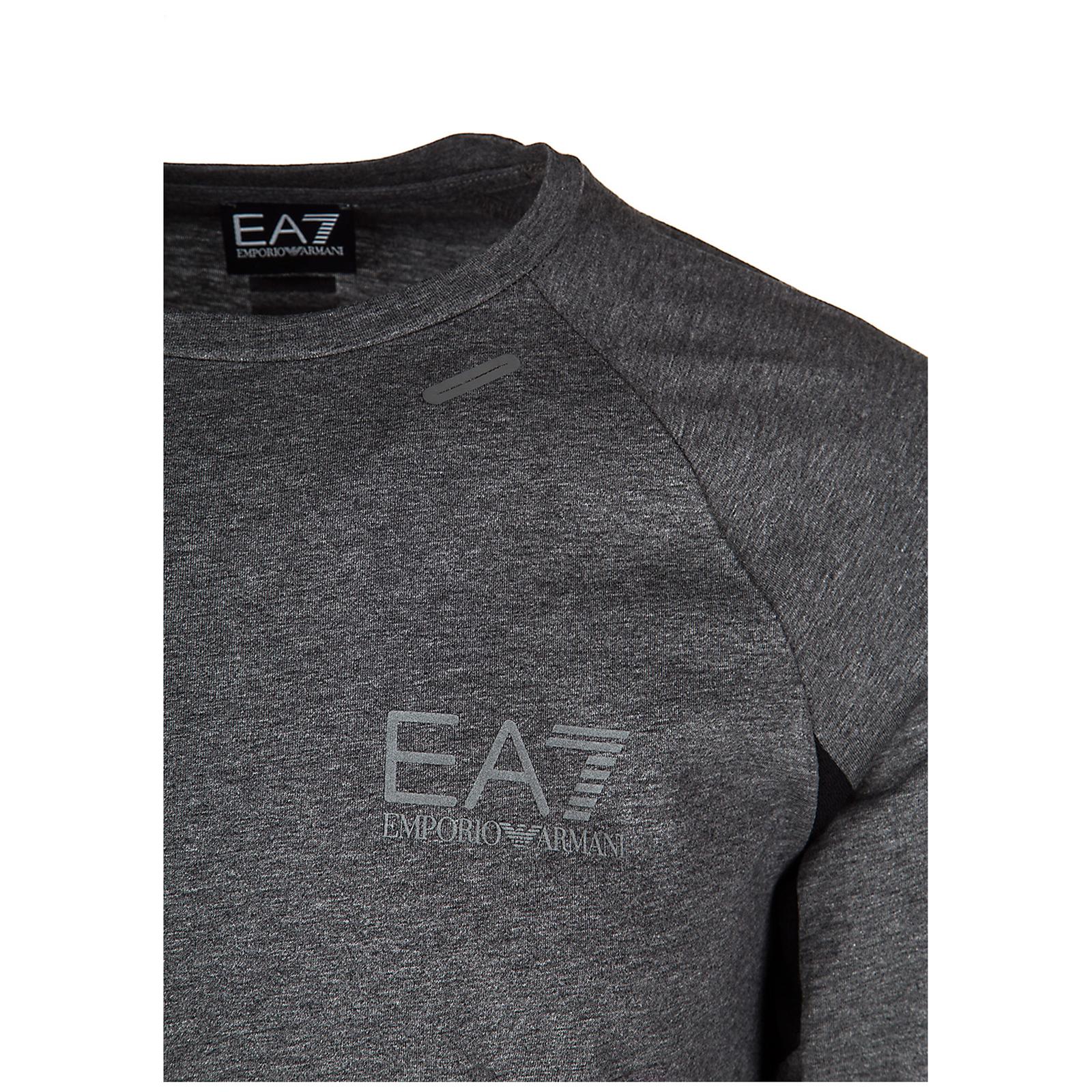футболка с длинными рукавами круглый вырез горловины мужская