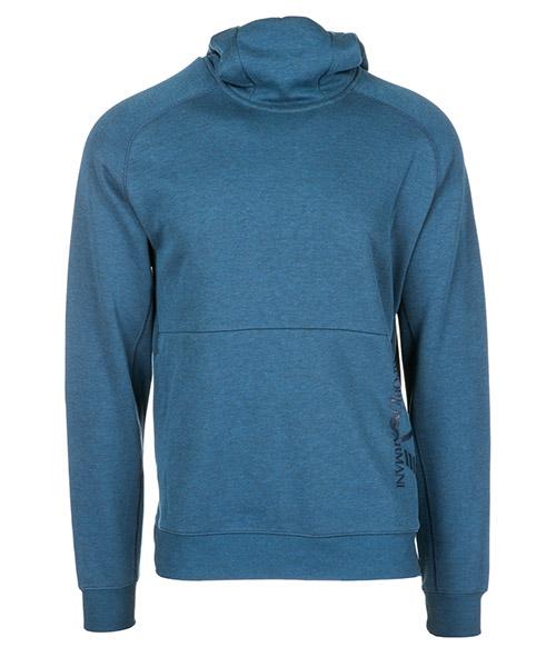 Sweat à capuche Emporio Armani EA7 6ZPM56PJF3Z3503 blue melange
