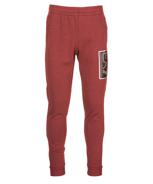 Pantaloni tuta Emporio Armani EA7 6ZPP59PJF3Z3405 burgund