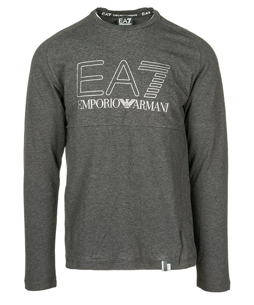 T-shirt manica lunga Emporio Armani EA7 6ZPT05PJ04Z3909 carbon melange