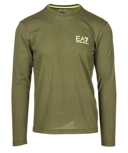 Long sleeve t-shirt Emporio Armani EA7 6ZPT15PJJ6Z1852 forest night
