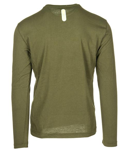 Herren t-shirt langarm langarmshirt runder kragen secondary image