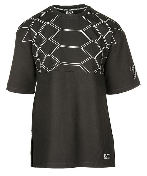 T-shirt Emporio Armani EA7 6ZPT43PJQ0Z1200 nero