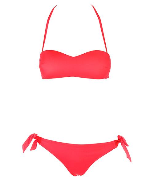 Bikini Emporio Armani EA7 911016CC41710874 fluo red