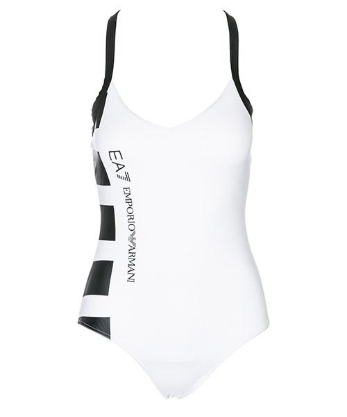 Swimsuit Emporio Armani EA7 9110297P40700010 bianco