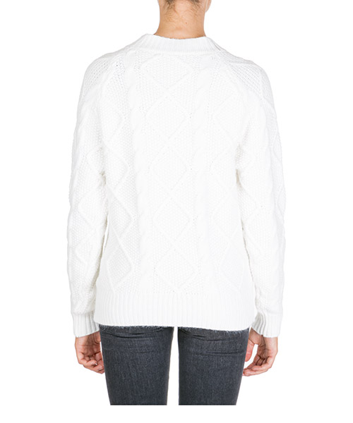 Maglione maglia donna girocollo secondary image