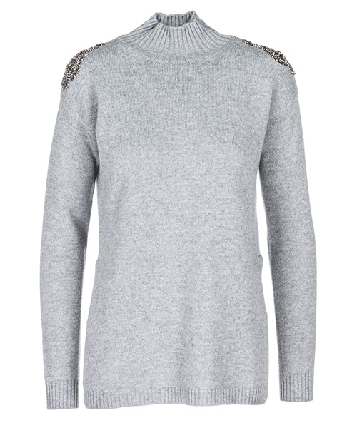 Maglione collo alto Ermanno di Ermanno Scervino MG4909191 grigio