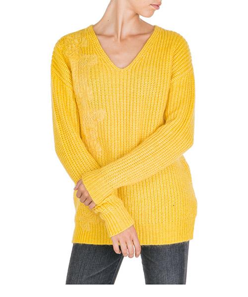 Maglione Ermanno di Ermanno Scervino mg71ame00413 giallo