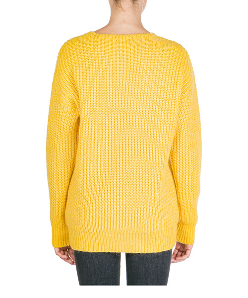Maglione maglia donna scollo a v secondary image