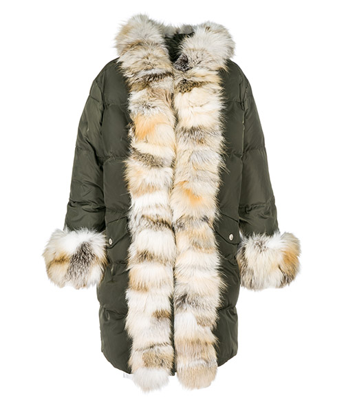 Down jacket Ermanno di Ermanno Scervino pn0800832 verde