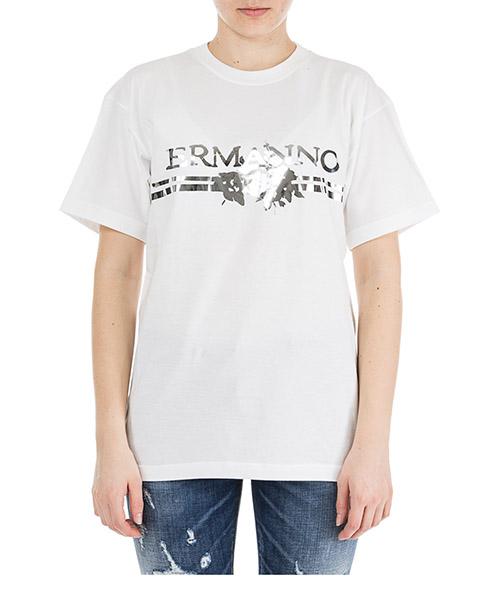 T-shirt Ermanno di Ermanno Scervino TS30JCO00010 bianco