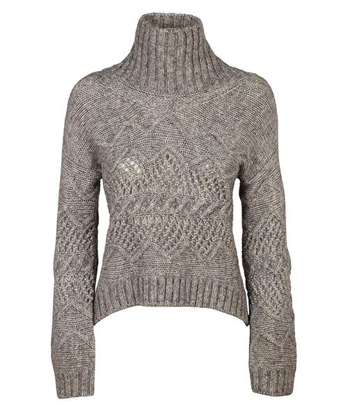Suéter cuello alto Ermanno Scervino D315M319VTWM3101 grigio