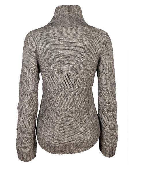 Suéter cuello de tortuga cuello alto de mujer secondary image