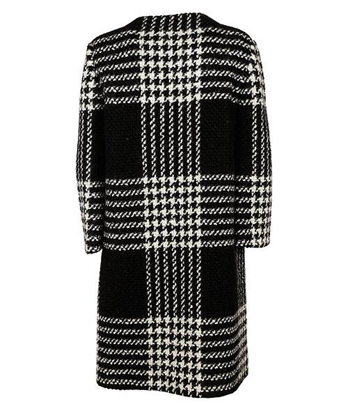 Abrigo de lana de mujer  pied de poule secondary image
