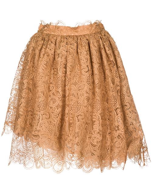 Mini skirt Ermanno Scervino D332O332AWE-71224 marrone