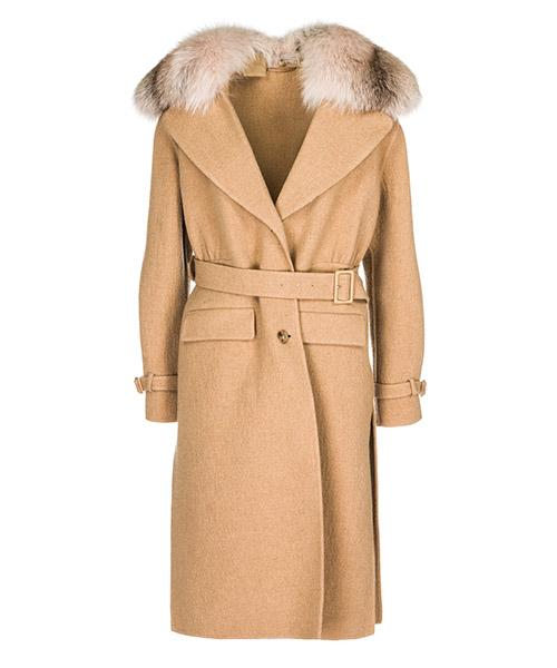 Пальто Ermanno Scervino D336D327VOFKL-61310 beige