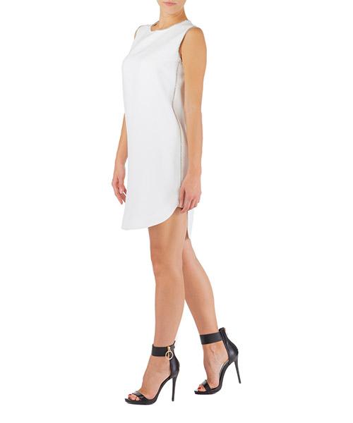 Vestito al ginocchio Ermanno Scervino d352q763ukf-14800 bianco
