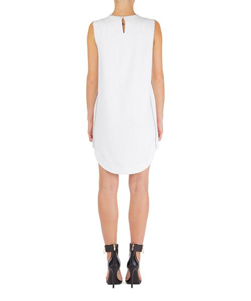 Vestito abito donna al ginocch ginocchio manica corta secondary image