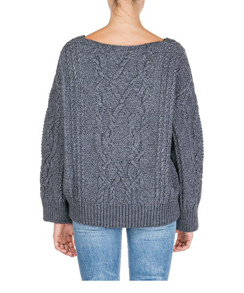 Women's jumper sweater v-neck secondary image