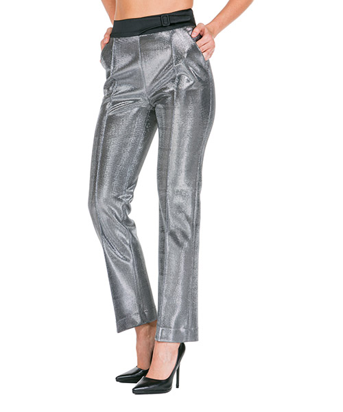 Pantalones Ermanno Scervino d356p302uky45002 argento
