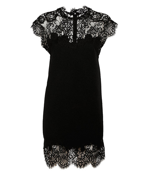 Mini dress Ermanno Scervino d992q002pwe95708 nero