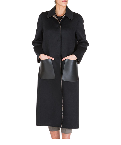 Women's wool coat secondary image