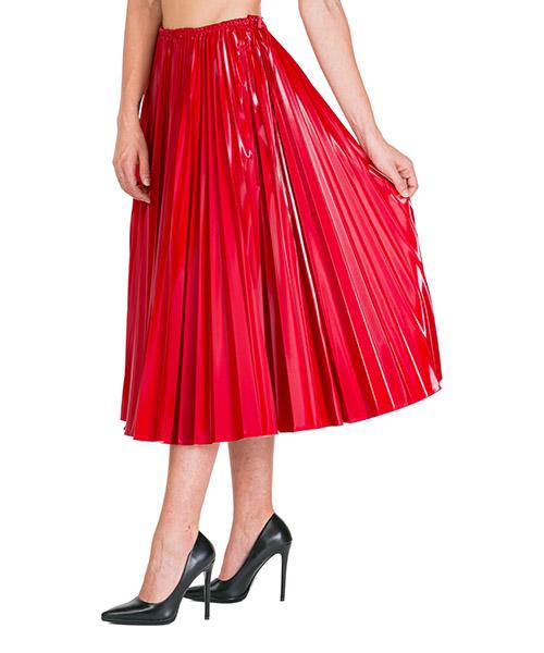 Maxi skirt Fendi fq7084a8emf16wv rosso