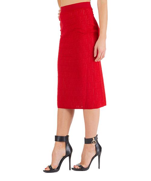 Skirt Fendi fzq586a8kkf16wv rosso