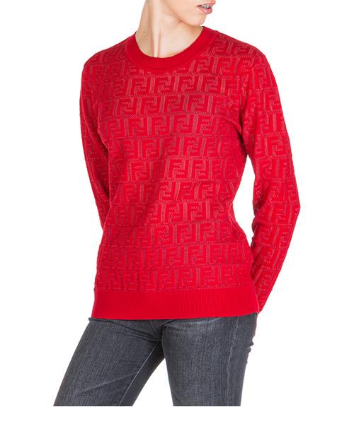 Pullover Fendi fzy841a8kkf16wv rosso