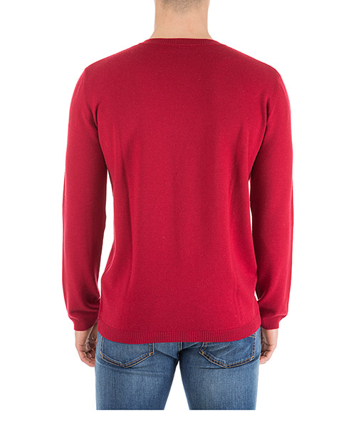 Men's crew neck neckline jumper sweater pullover animation secondary image