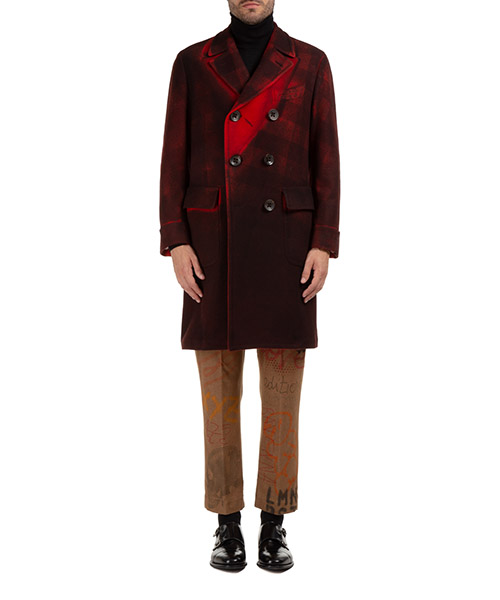 Mantel Gabriele Pasini G1633351GP16511690LS rosso