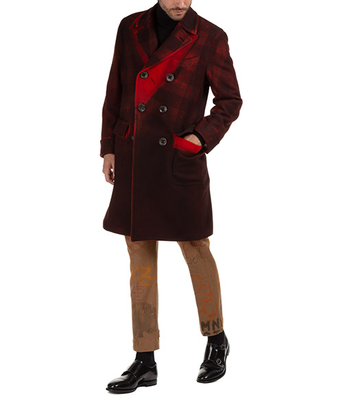 Men's double breasted coat overcoat  tinto capo secondary image