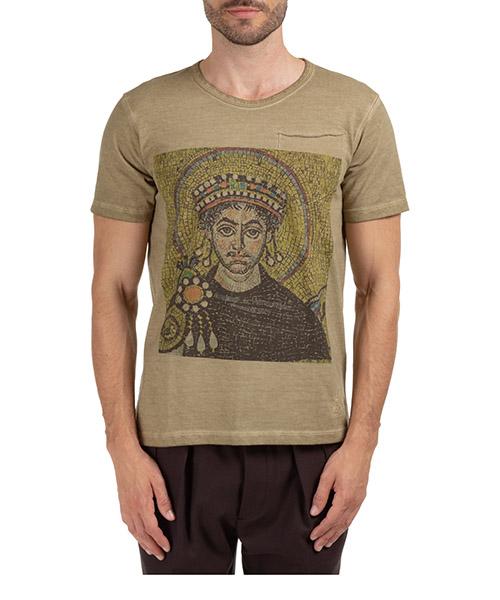 T-shirt Gabriele Pasini G16TSHIR2GP16372500 verde