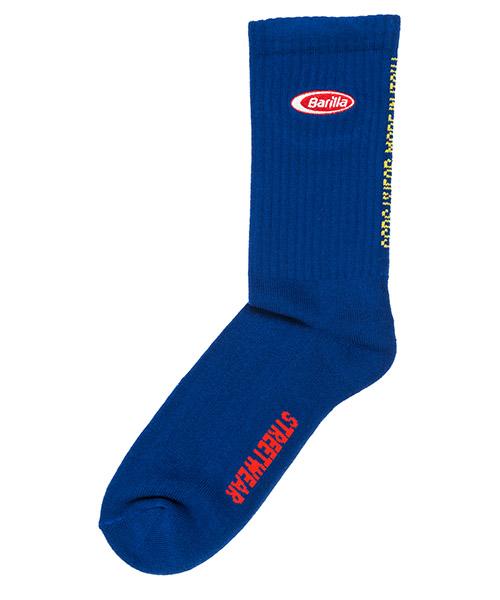 Knee high socks GCDS Barilla BR20W010001-08 blu