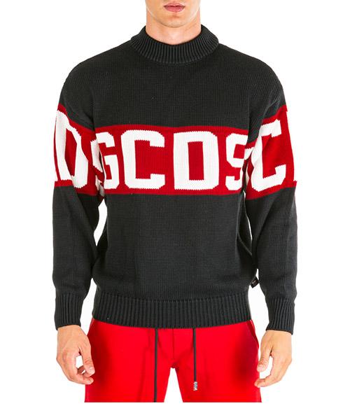 Pullover GCDS cc94m020050-02 nero