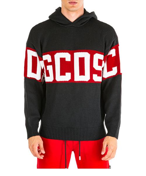 Pullover GCDS cc94m020200-02 nero