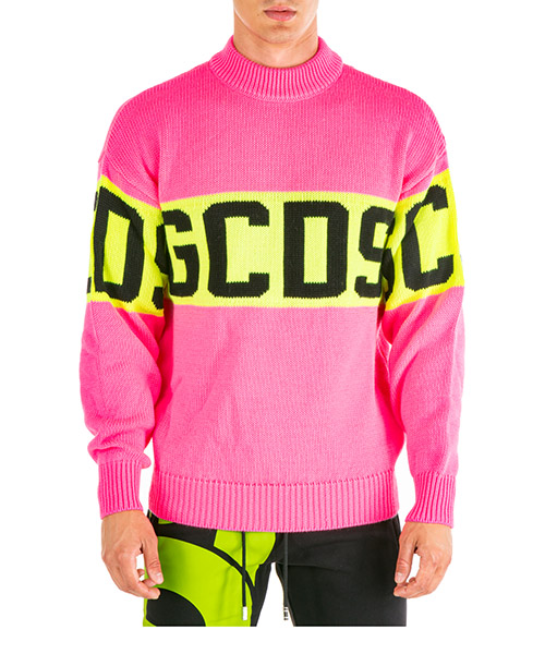 Suéter GCDS cc94m020218-06 rosa