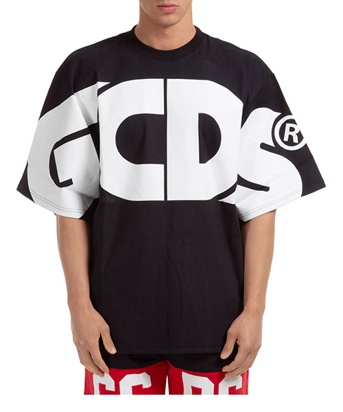 T-shirt GCDS macro logo CC94M021006-02 black