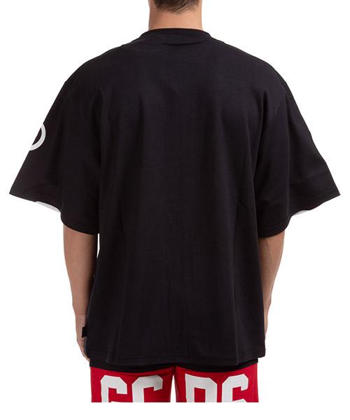 Herren t-shirt kurzarm kurzarmshirt runder kragen macro logo secondary image