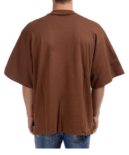 Men's short sleeve t-shirt crew neckline jumper macro logo secondary image